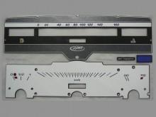 Вставка в панель приборов для ВАЗ 2101, Ока, мокрый асфальт.